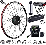 bafang rear wheel 500w 48v brushless hub motor electric bike conversion kit for kinds of bicycles
