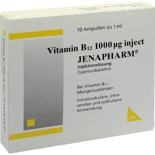 Vitamin B12 Jenapharm 1000 µg Ampullen, 10 St.