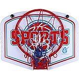 MHCYKJ Mini Canasta Baloncesto Infantil Juego De Aro para NiñOs Interior BebéS Bola Bomba Jugar Al Aire Libre En El Colgar sobre Puertas Hogar Oficina Dormitorio