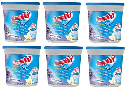 Best Prices! Damp Rid FG01LV Lavender and Vanilla Moisture Pack of 6