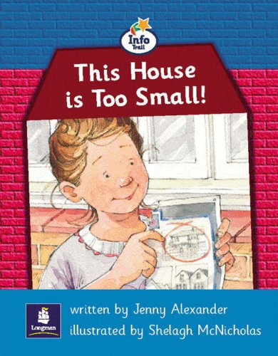Info Trail Beginner This house is too small Non-fiction (LITERACY LAND)の詳細を見る