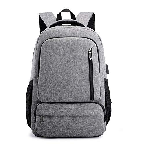 Glqwe Waterdichte rugzak voor laptop, schouders, rugzak, USB-lading