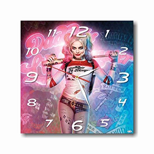 519hD7ieMCL Harley Quinn Clocks