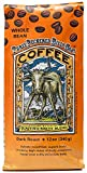 Raven's Brew Coffee Whole Bean Three Peckered Billy Goat - Dark Roast - Breakfast Coffee Bliss with an Instant Caffeine Supercharge - Delicious as Espresso - 12oz Bag