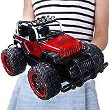 Super Grande voiture télécommandée rouge alliage cross-country à la dérive 2.4GHz 360deg;Rotation jouets for enfants véhicule enfants Monster corps de jouet de garçon haute vitesse électrique recharge