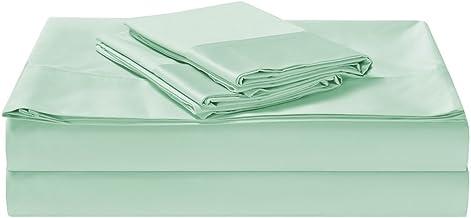 1500TC Cotton Rich 3 Pieces King Single Bed Sheet Set, Flat Sheet, Fitted Sheet & 1 Pillowcase Cloud