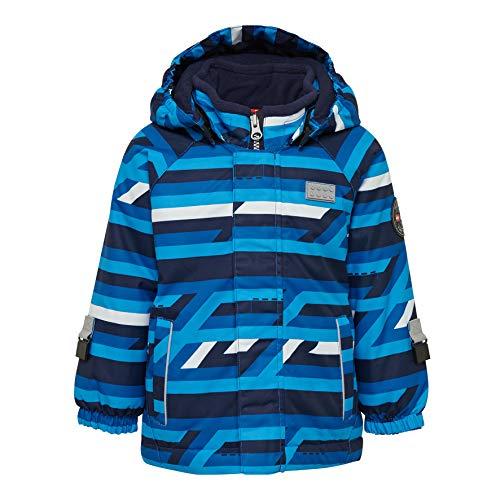 Lego Wear Baby-Jungen Lego duplo Tec Play LWJULIAN 713-Skijacke/Winterjacke Jacke, Blau (Blue 553), (Herstellergröße:104)