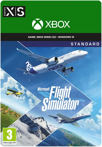 Microsoft Flight Simulator Standard Edition   Digital code for PC and from...