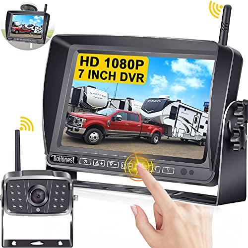 DoHonest S21 HD 1080P RV Wireless Backup Camera 7...