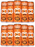Pumpkin Spice Latte, Cold Brew Coffee, Limited Edition, Sugar Free, Keto, Paleo Certified, MCT Oil, No Refrigeration Required, South American Single Origin, Low Acidity, Tall 11.5 oz Cans, 12 Pack