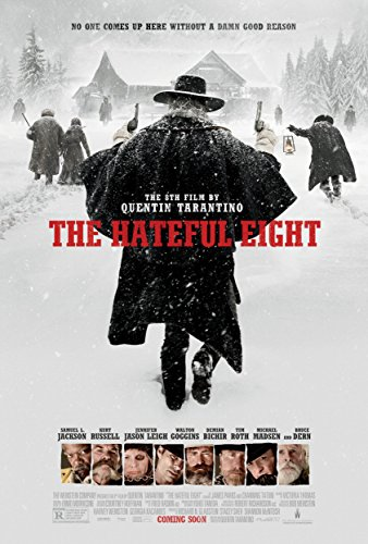 11X8 INCHES Filmposter The Hateful Eight, ca. 28 x 20 cm
