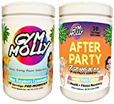 Gym Molly's After Party Combo Pack with Preworkout and Postworkout Drink Supplements for Energy and...
