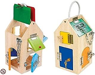 Juego de habilidad y de agilidad: Casa Con cerraduras múltiples y varios, todo para découvrir y se amuser