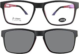 نظارات شمسية من Circleperson للرجال والنساء نظارات شمسية مستقطبة بمشبك مغناطيسي 53-17