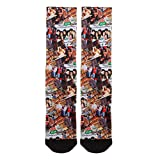 Friends Central Perk Scene Panels Premium Sublimated All Over Print Men's Crew Socks