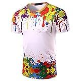 ZCZH Maglietta da Calcio Uomo Classic T-Shirt Dome Tee Maglietta a Maniche Corte Unisex Stampa Manica Corta T-Shirt Tees Graphic XL