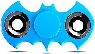 Batman Hand Spinner Fidget Toy, High Speed Spinner Fidget 2 Sided Spinner Toy, Batman Fidget Spinner, Stress Reducer Relieves ADHD, EDC Focus Toy (Sky Blue)