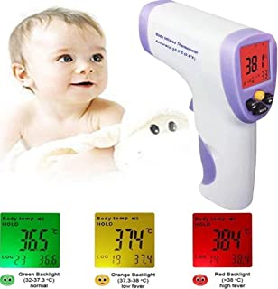Forehead Thermometer Digital Infrared Thermometer, Non Contact Forehead Temperature Gun for Baby and Adults