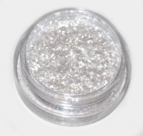 Snow White Diamond Eye Shadow Loose Glitter Dust Body Face Nail Art Party Shimmer Make-Up by Kiara H&B