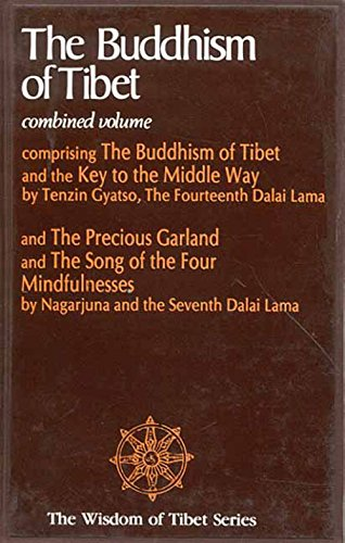 The Buddhism of Tibet and the Key to the Middle Way -  Dalai Lama, Paperback
