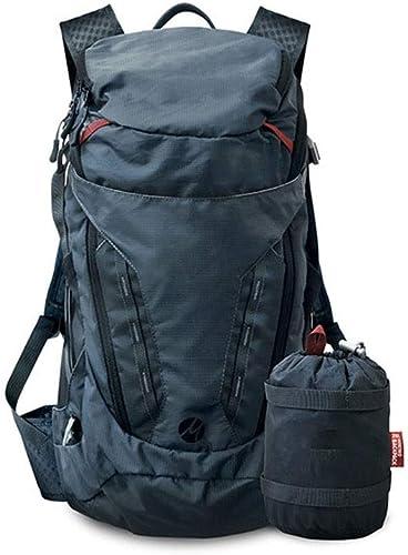 LCLZ Haute Qualité Sac De Rangement Pliable Portatif Sport Hommes Et Femmes Imperméables en Plein Air Et Sac à Dos Sac Souple (Couleur   28L Advanced Backpack bleu)