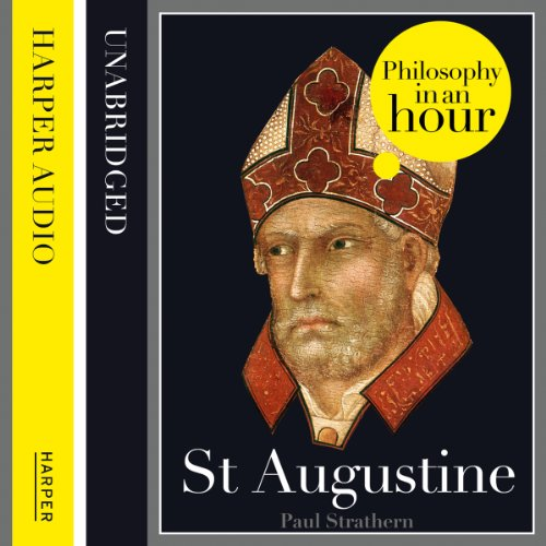 St Augustine: Philosophy in an Hour audiobook cover art