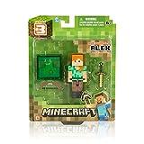 Minecraft - Figura de Alex con Accesorios, 7,5 cm