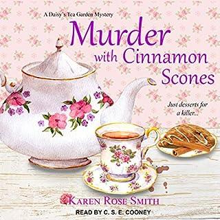 Murder with Cinnamon Scones audiobook cover art