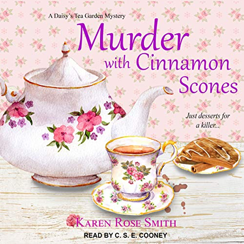 Murder with Cinnamon Scones  By  cover art