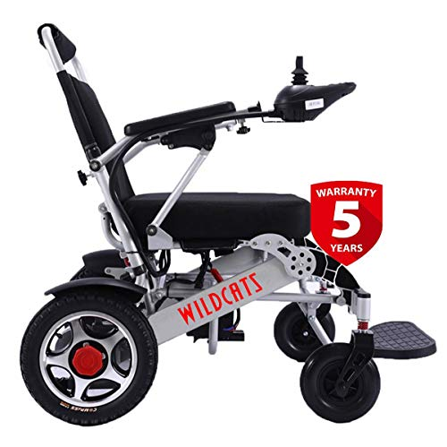 Rubicon Extreme Sport All Terrain Electric Wheelchair Portable Lightweight Motorized Power Foldable Wheelchairs for Adults