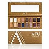 AFU 16 Colors Eyeshadow Palette, Makeup pallet Eye Shadow Highly Pigmented Waterproof Cosmetics