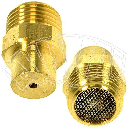'1/2-Valve de drainage pour évacuation eau de tuyau d'arrosage jardin