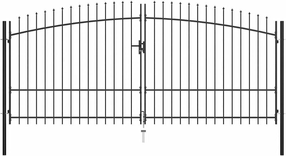 Outdoor Garden Gate Max 58% OFF Lawn Barrier Metal Japan Maker New Stockade C Fencing