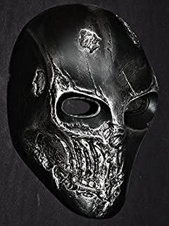 tripple_777 Custom Army of Two Halloween Costume Cosplay BB Gun Paintball Airsoft Mask Rios R2 Black MA300 am