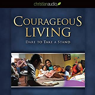 Courageous Living audiobook cover art