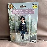 リカちゃん 麹町 学園 女子 中学 高等 学校 制服 ストラップ 人形 レア キーホルダー チェーン りか doll licca ドール