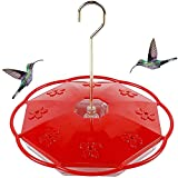 Juegoal Hummingbird Feeder with 8 Feeding Ports, Hanging Design for Birds Lover, Perfect for Outdoor...