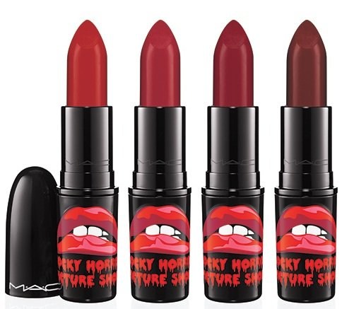 MAC Limited Edition Rocky Horror Picture Show Lipstick ~ Complete Set of 4