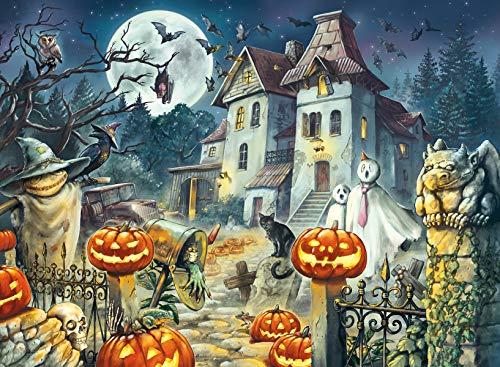 Ravensburger Puzzle, Halloween, Puzzle 300 Piezas XXL, Puzzles para Niños, Edad Recomendada 9+, Rompecabeza de Calidad