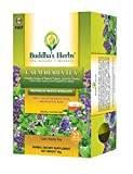 Buddha's Herbs Calming Tea with Passion Flowers and Lavender - Relaxation Tea 100 % Natural (Pack of Two) (44 Tea bags))
