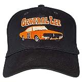 Dukes of Hazzard The Black Baseball Cap Hat (Adult, Adjustable)