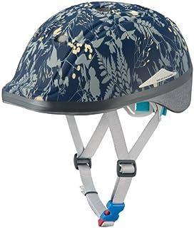 オージーケーカブト(OGK KABUTO) 自転車 ヘルメット 子ども用 DUCK In Red (ダックインレッド) ボタニカルネイビー 幼児・児童用(頭囲:49~54cm未満)