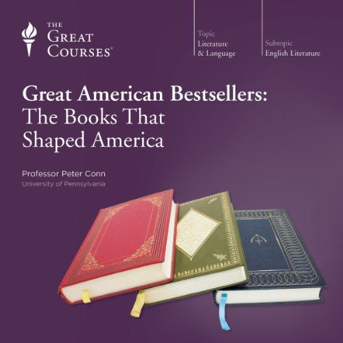 Great American Bestsellers: The Books That Shaped America audiobook cover art