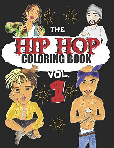 HIP HOP COLORING BOOK: A music coloring book for adults - For rap and hip hop fans - exclusive designs