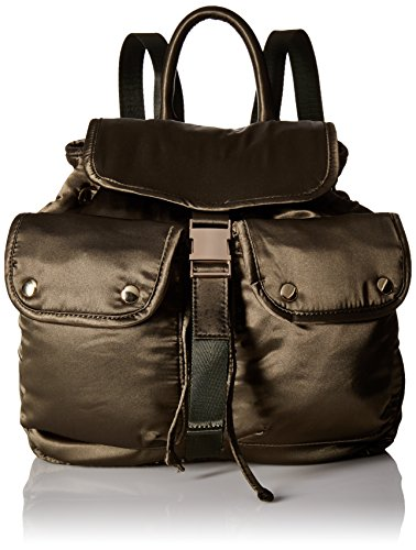 Steve Madden Jax Backpack Bowling Style Handbag, Olive, One Size