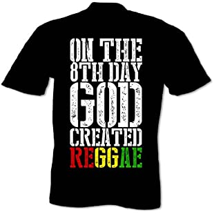 Customer reviews Bang Tidy Clothing Men's God Created Reggae T Shirt Black S:Isfreetorrent