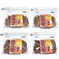 沖縄 黒糖 粉末 粒入り ミックス 200g 4袋セット 宮古多良間島産 特等 純黒糖