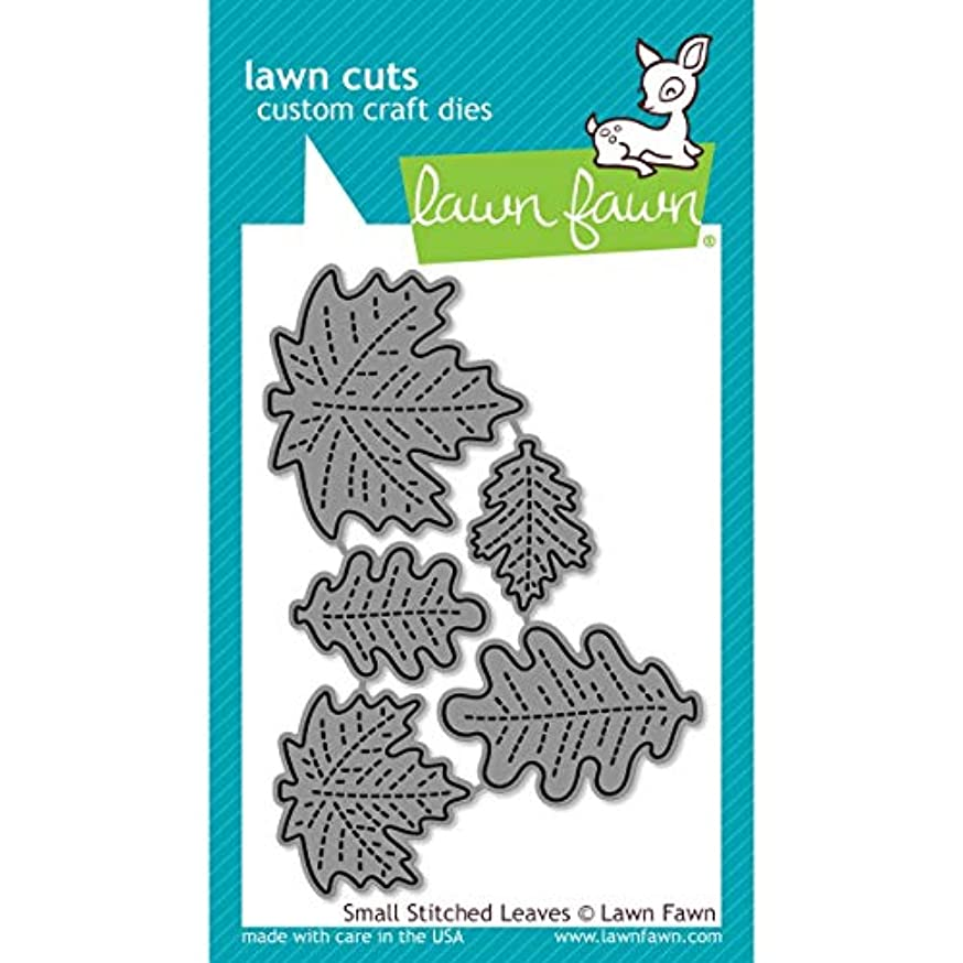 Lawn Fawn Lawn Cuts Custom Craft Die - LF994 Small Stitched Leaves