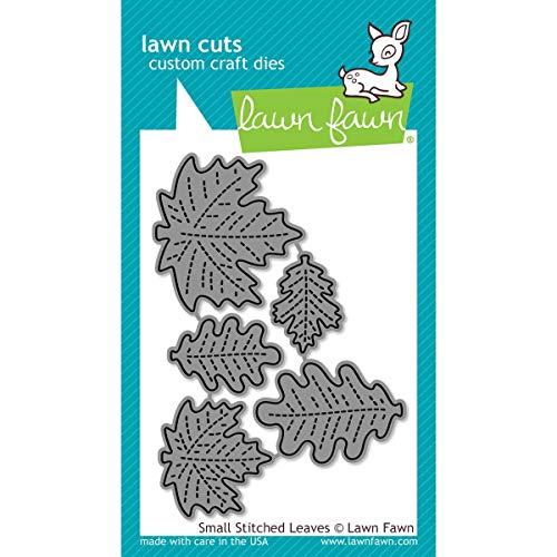 Lawn Fawn Lawn Cuts Custom Craft Die - LF994 Small Stitched Leaves