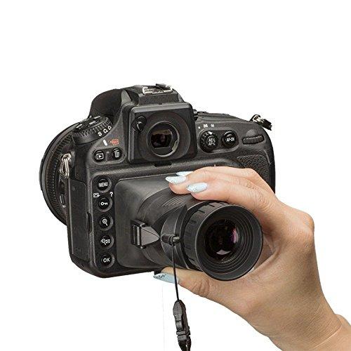 Hoodman H32MB HoodLoupe Camera Viewfinder Loupe 3.2 inch LCD Sun Shade